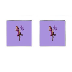 Pin Up 3 Square Cuff Links by UberSurgePinUps