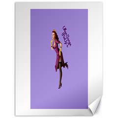 Pin Up 3 18  X 24  Unframed Canvas Print