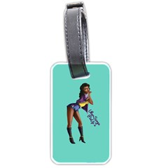Pin Up 2 Twin-sided Luggage Tag by UberSurgePinUps