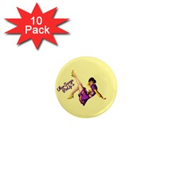 Pin Up Girl 1 1  Mini Magnet (10 Pack)  by UberSurgePinUps