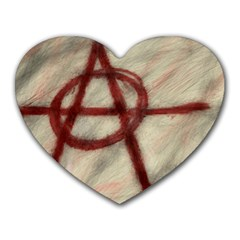 Anarchy Mouse Pad (heart)