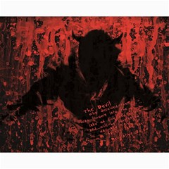 Tormented Devil 16  X 20  Unframed Canvas Print