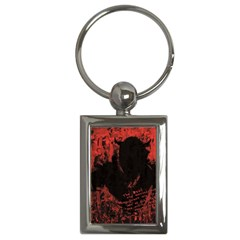 Tormented Devil Key Chain (rectangle) by VaughnIndustries