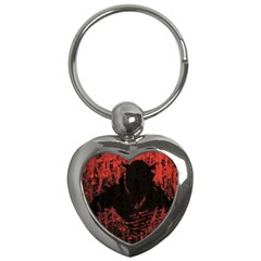 Tormented Devil Key Chain (heart) by VaughnIndustries