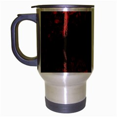 Tormented Devil Brushed Chrome Travel Mug