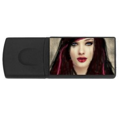 Beautiful Mess 4gb Usb Flash Drive (rectangle) by VaughnIndustries