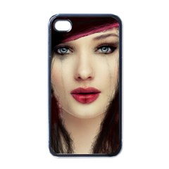 Beautiful Mess Black Apple Iphone 4 Case by VaughnIndustries