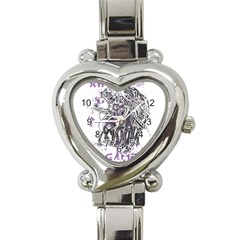 Game Over Classic Elegant Ladies Watch (heart)