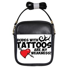 Dudes With Tattoos Kids  Sling Bag