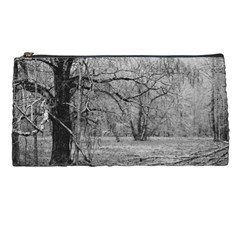 Black And White Forest Pencil Case by Elanga