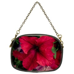Red Peonies Twin Sided Evening Purse by Elanga