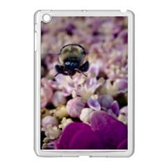 Flying Bumble Bee Apple Ipad Mini Case (white)