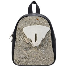 Quarter Of A Sand Dollar Small School Backpack by Elanga
