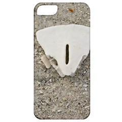 Quarter Of A Sand Dollar Apple Iphone 5 Classic Hardshell Case by Elanga