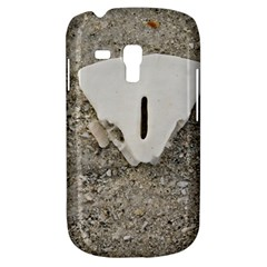 Quarter Of A Sand Dollar Samsung Galaxy S3 Mini I8190 Hardshell Case by Elanga