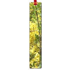 Yellow Bells Large Book Mark by Elanga