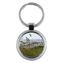 Cocoa Beach, Fl Key Chain (round) by Elanga