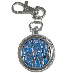Trees On Blue Sky Key Chain & Watch