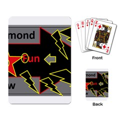 Raymond Fun Show 2 Standard Playing Cards by hffmnwhly