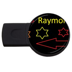 Raymond Tv 2gb Usb Flash Drive (round) by hffmnwhly