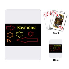 Raymond Tv Standard Playing Cards