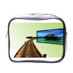 Virtual Tv Single Sided Cosmetic Case