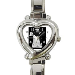Milky Classic Elegant Ladies Watch (heart) by SweetCat