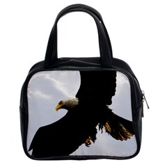 Landing Eagle I Classic Handbag (two Sides)