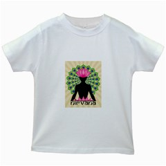 Me & Nirvana Kids' T-shirt (white) by NIRVANA