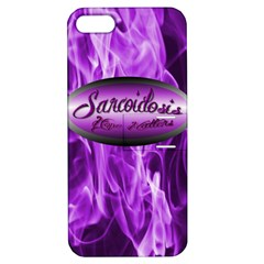 Hope Matters Flames Apple Iphone 5 Hardshell Case With Stand by PJsKickinDesigns