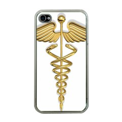 Caduceus Medical Symbol 10983331 Png2 Apple Iphone 4 Case (clear)