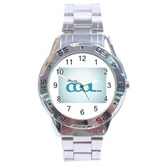 Cool Designs Store Stainless Steel Watch (men s) by CoolDesignsStore