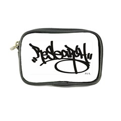 Rdlx Handstyle   Black Print Coin Purse by ResearchDeluxe