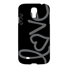 Love Samsung Galaxy S4 I9500 Hardshell Case