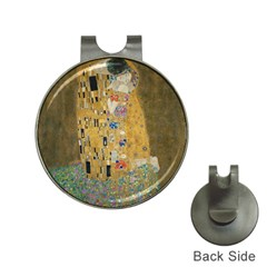 Klimt   The Kiss Hat Clip With Golf Ball Marker
