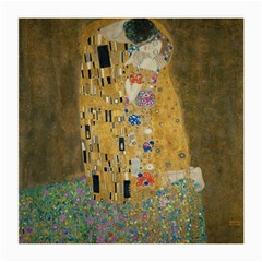 Klimt - The Kiss Glasses Cloth (medium, Two Sided) by ArtMuseum