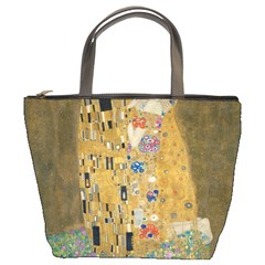 Klimt   The Kiss Bucket Bag by ArtMuseum