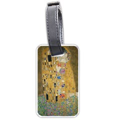 Klimt   The Kiss Luggage Tag (one Side) by ArtMuseum
