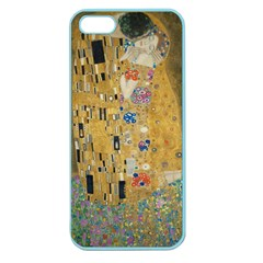 Klimt   The Kiss Apple Seamless Iphone 5 Case (color)