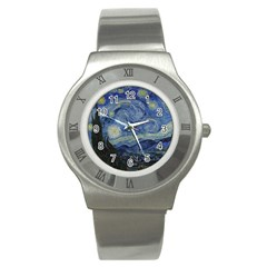 Starry Night Stainless Steel Watch (unisex)