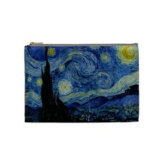 Starry Night Cosmetic Bag (medium) by ArtMuseum