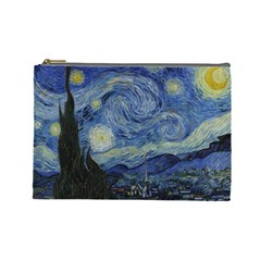 Starry Night Cosmetic Bag (large) by ArtMuseum