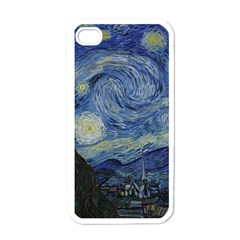 Starry Night Apple Iphone 4 Case (white) by ArtMuseum