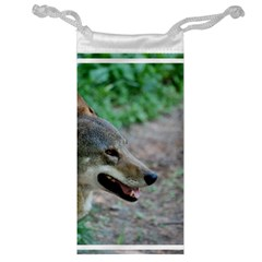 Red Wolf Jewelry Bag by AnimalLover