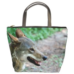 Red Wolf Bucket Bag by AnimalLover