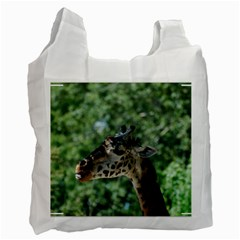 Cute Giraffe Recycle Bag (two Sides)