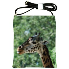 Cute Giraffe Shoulder Sling Bag by AnimalLover