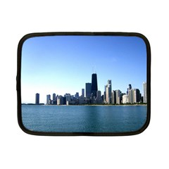 Chicago Skyline Netbook Case (small) by canvasngiftshop