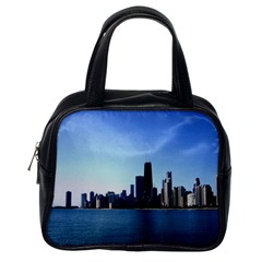 Chicago Skyline Classic Handbag (One Side)
