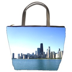 Chicago Skyline Bucket Bag